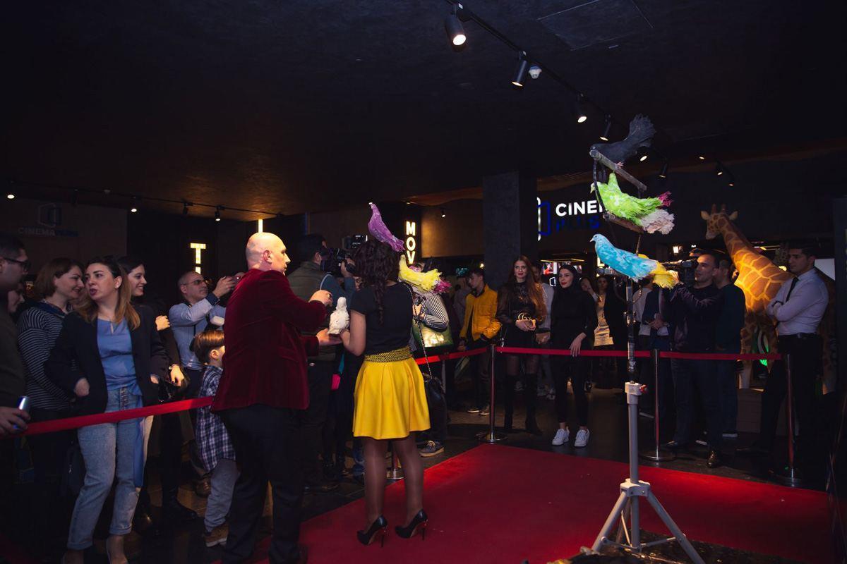 """В CinemaPlus состоялся предпремьерный показ фильма """"Удивительное путешествие доктора Дулиттла"""""""