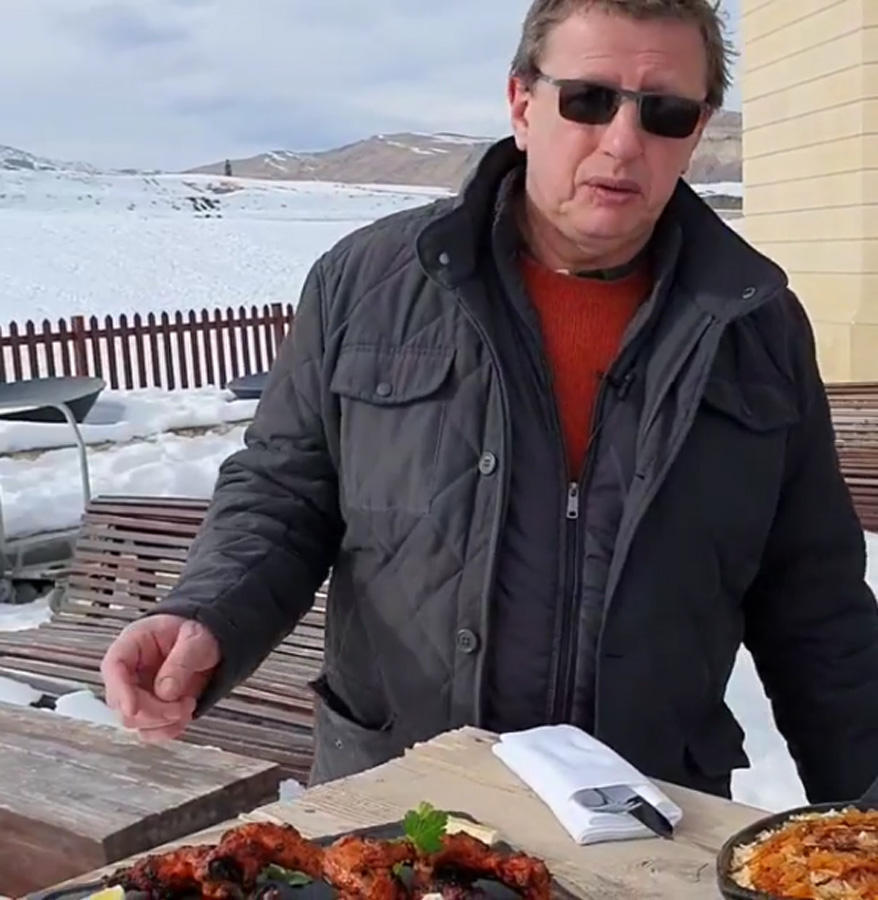 Михаил Ширвиндт представил очередной выпуск, посвященный Азербайджану