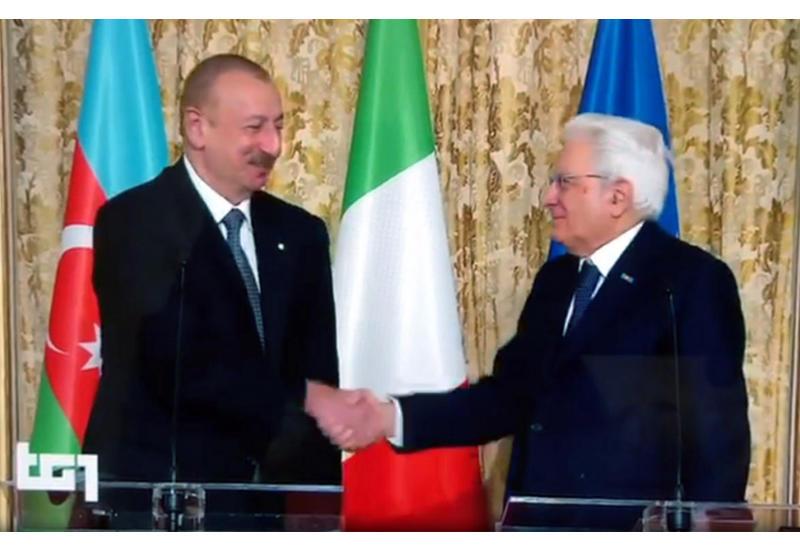 Телеканал Rai распространил репортаж о государственном визите Президента Ильхама Алиева в Италию
