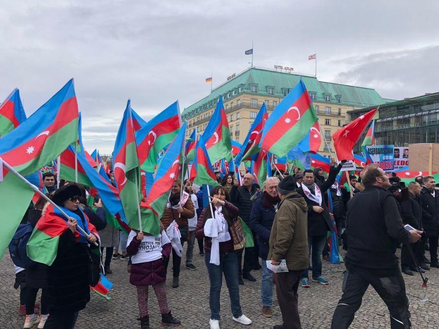 В Берлине прошел Общеевропейский Карабахский митинг