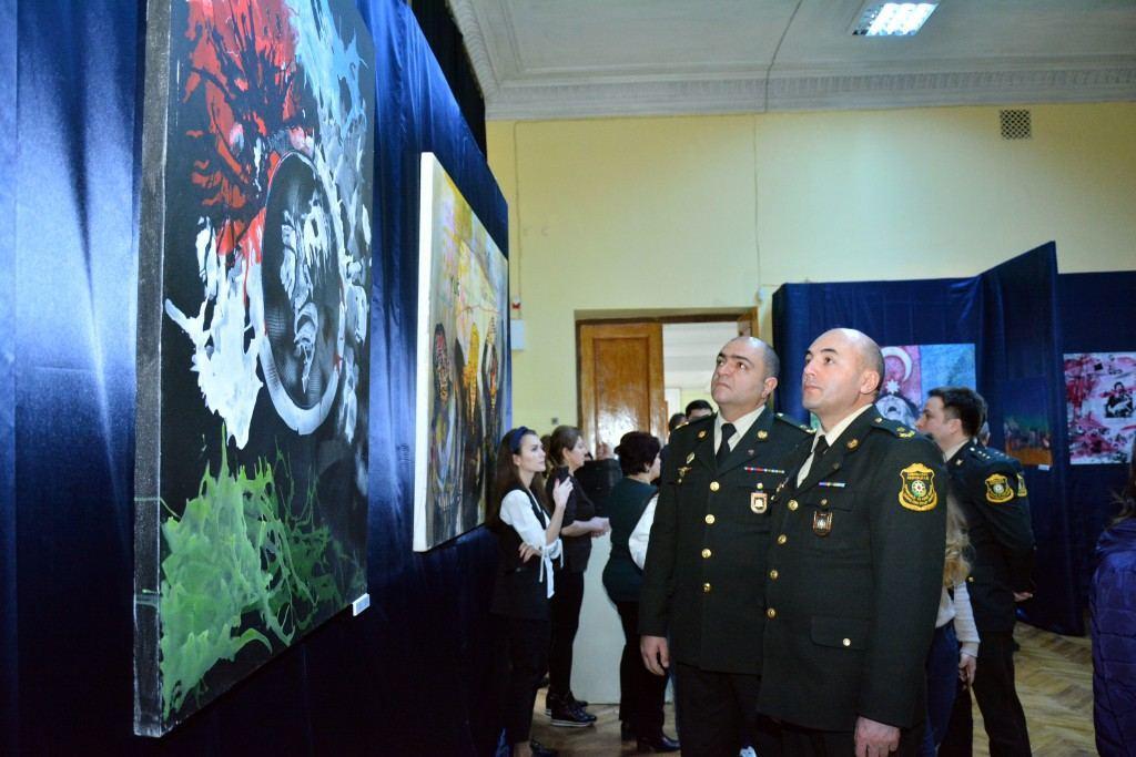 В Музейном центре в Баку прошло мероприятие, посвященное 28-й годовщине Ходжалинского геноцида