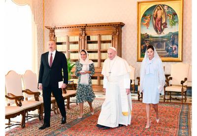 Ватикан подтвердил особую цивилизационную миссию Первого вице-президента Мехрибан Алиевой