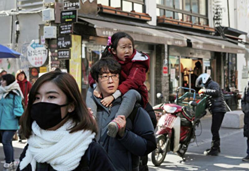 Южная Корея объявила наивысший уровень угрозы из-за коронавируса
