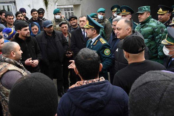 Руководители семи структур проинспектировали границу с Ираном