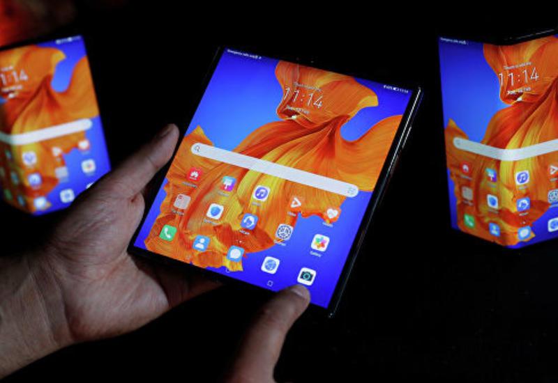 Huawei представила складной смартфон, поддерживающий 5G