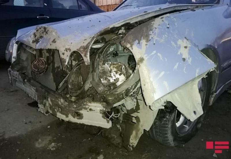 Тяжелое ДТП в Баку, есть погибший