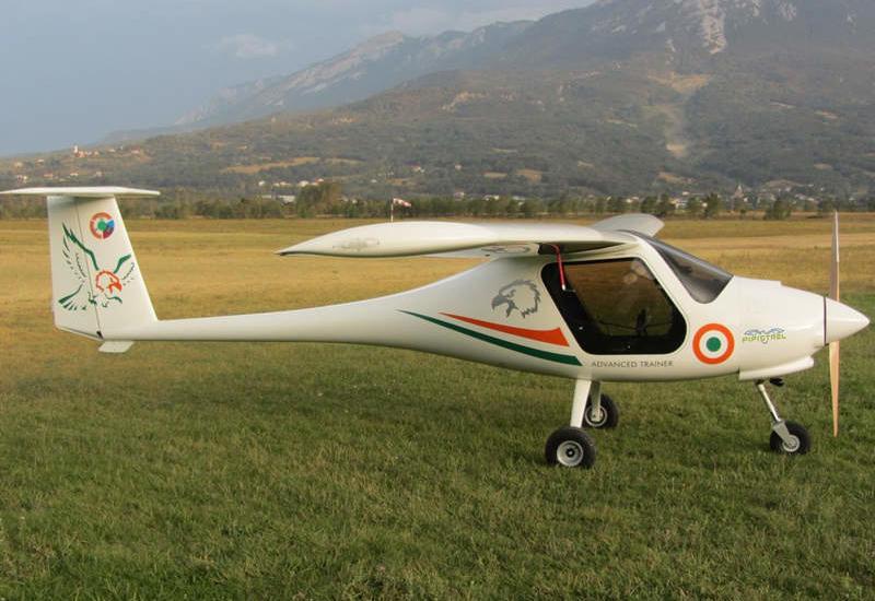 В Индии разбился самолет