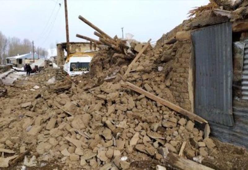 Землетрясение уничтожило село в Турции