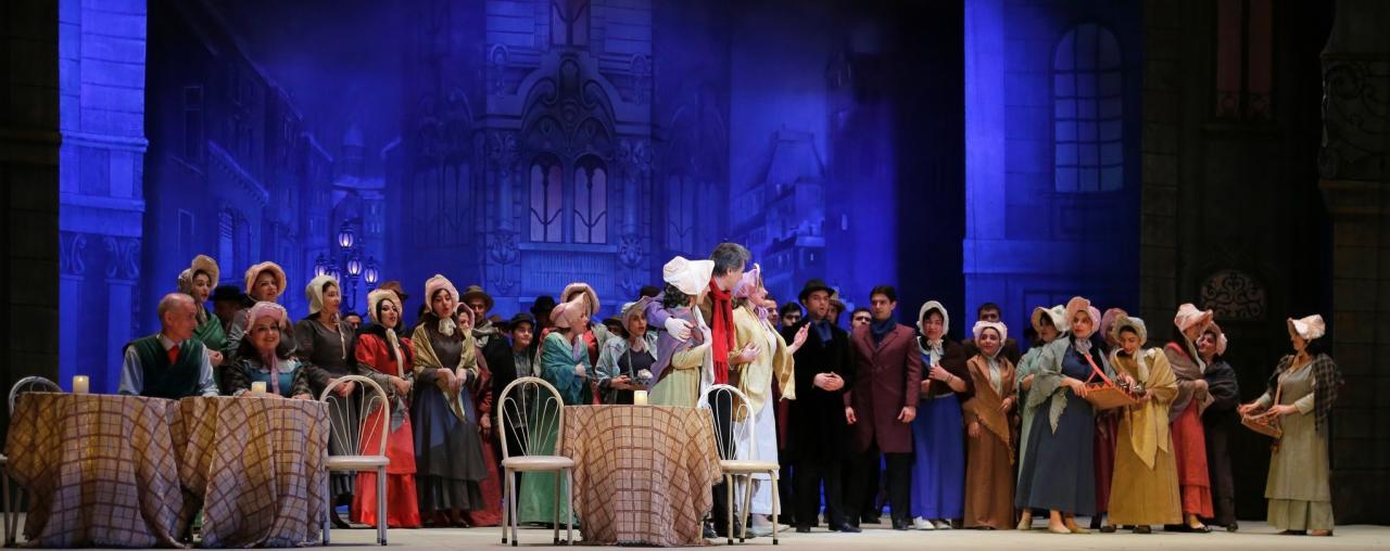 """Показ """"Богемы"""" собрал аншлаг в Театре оперы и балета"""