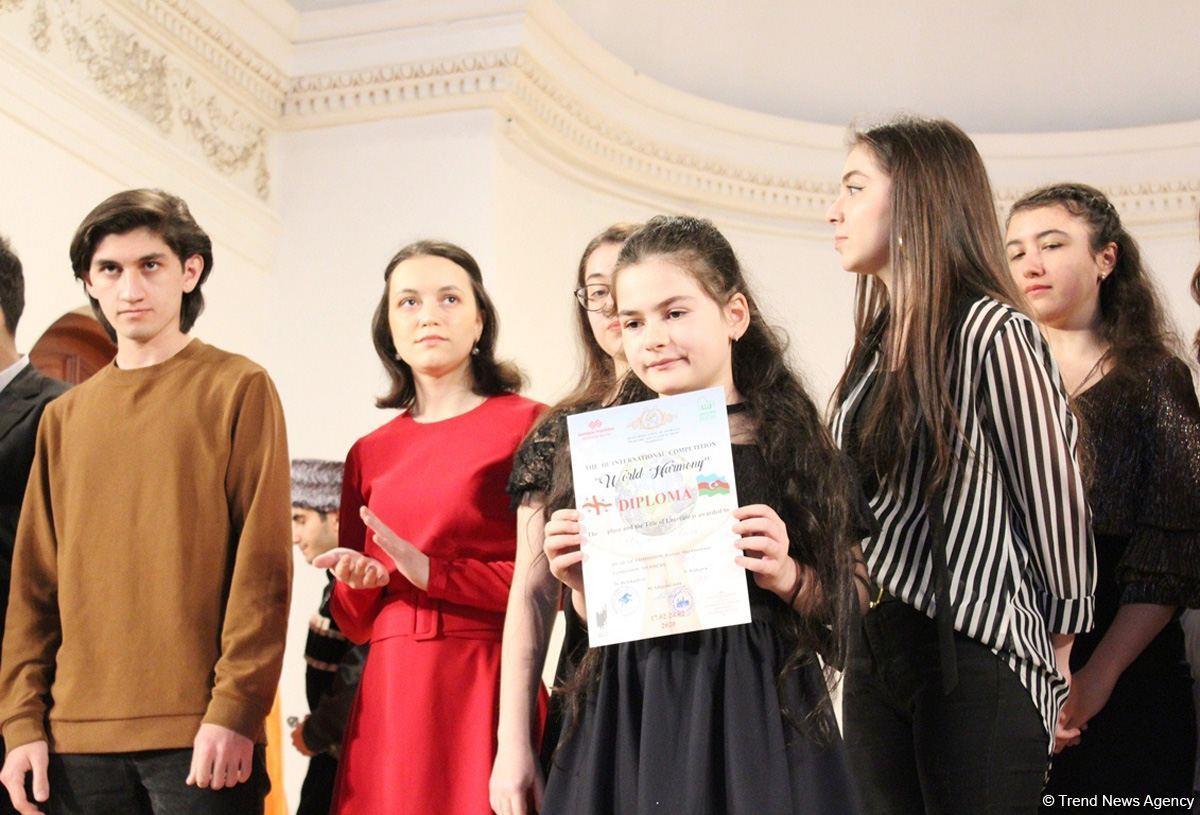 "В Филармонии наградили победителей III конкурса ""World Harmony"""