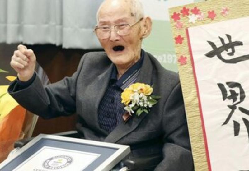 Скончался старейший в мире мужчина
