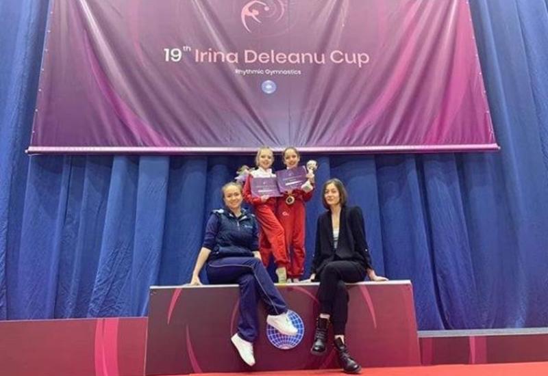 Десятилетняя гимнастка из Азербайджана завоевала 3 золотые медали