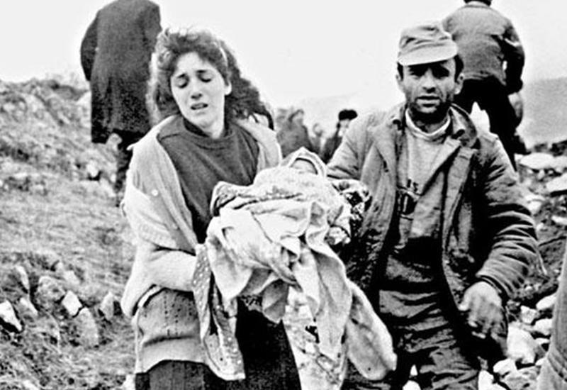 Ходжалинский геноцид - это преступление, не имеющее срока давности, такое трудно простить и невозможно забыть