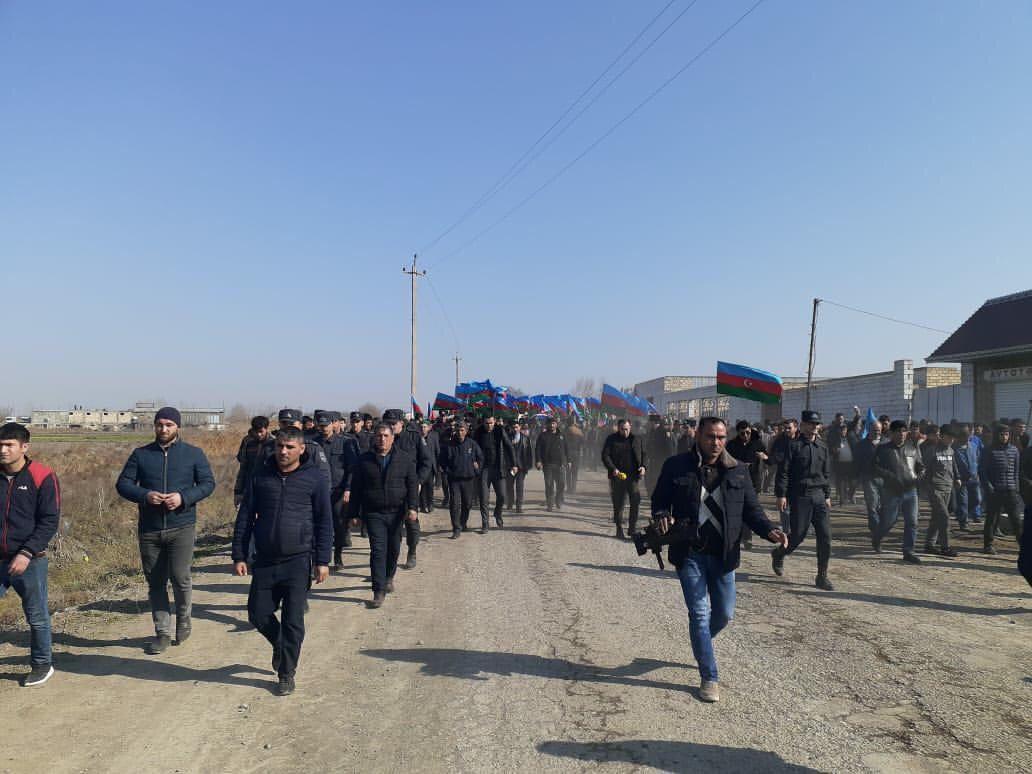 В Зардабе похоронен азербайджанский шехид