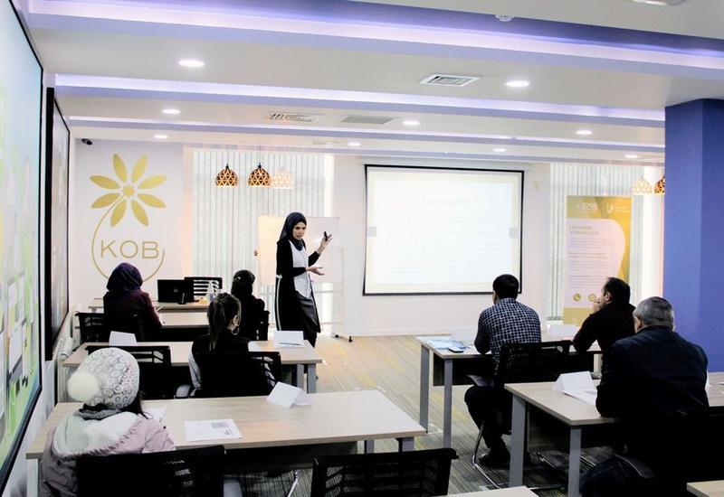В Хачмазском центре МСБ прошел тренинг по корпоративному праву