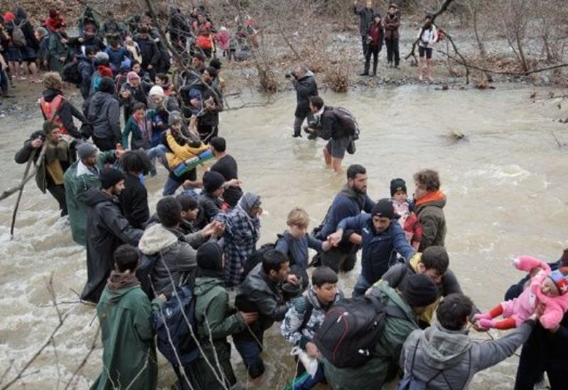 В Греции прошли беспорядки из-за мигрантов