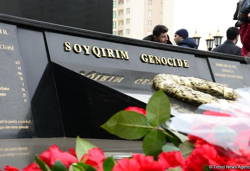 Общественность Азербайджана чтит память жертв Ходжалинского геноцида