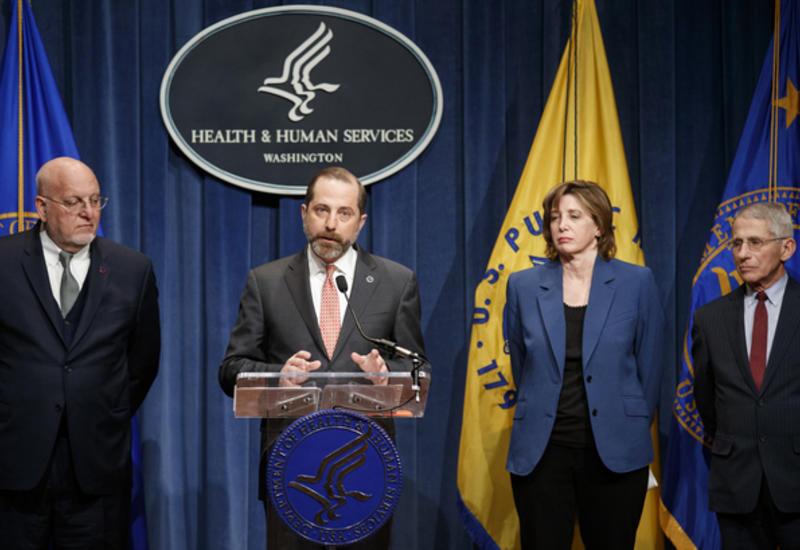 В США предупредили о неизбежном распространении коронавируса в стране