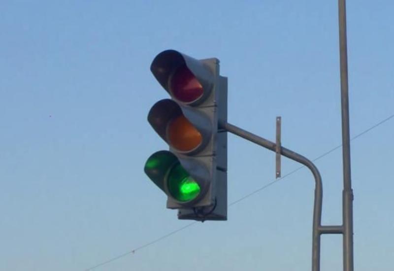 В Баку не работают светофоры примерно на 20 перекрестках