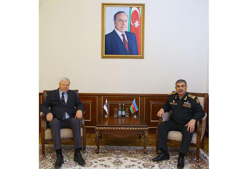 Закир Гасанов встретился с личным представителем действующего председателя ОБСЕ