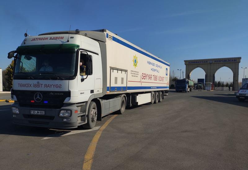 Азербайджан создает мобильные госпитали на границе с Ираном