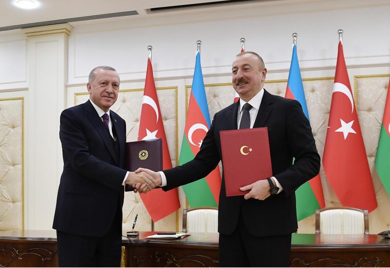 Телеканал Haber Global подготовил видеосюжет о визите Реджепа Тайипа Эрдогана в Баку