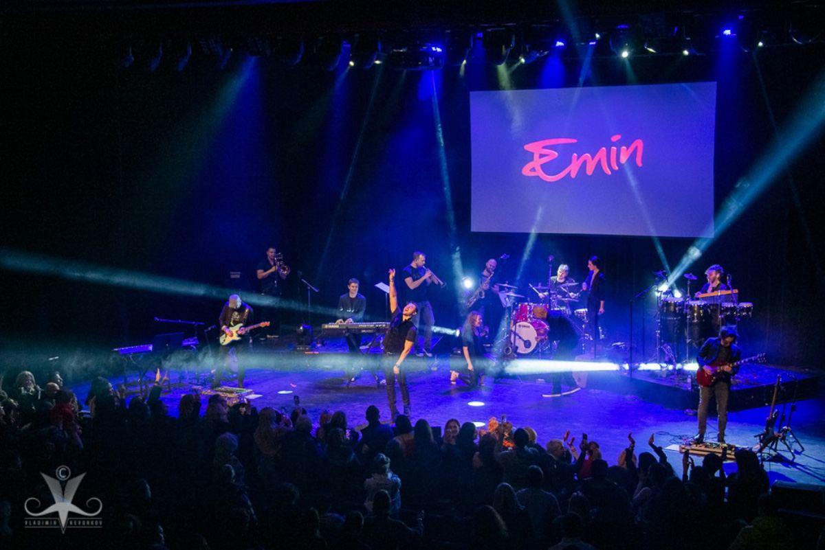 Завершился гастрольный тур Эмина Агаларова в США и Канаде