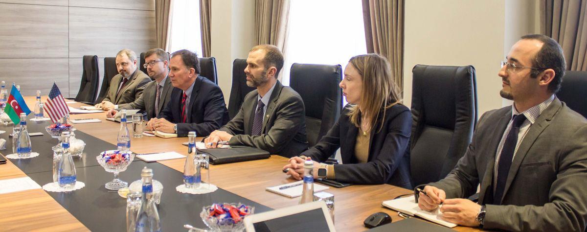 Министр энергетики Азербайджана и советник заместителя госсекретаря США обсудили важность ЮГК