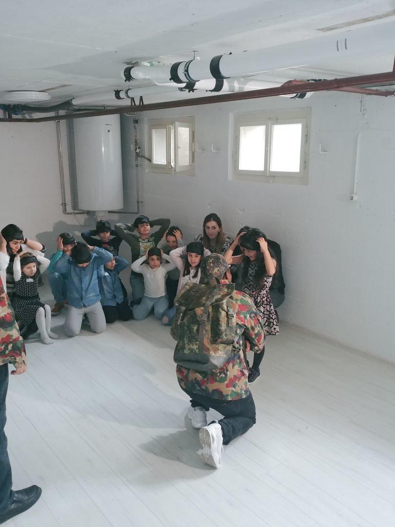 В азербайджанской школе Карабах в Швейцарии прошел квест, посвященный Ходжалинской трагедии