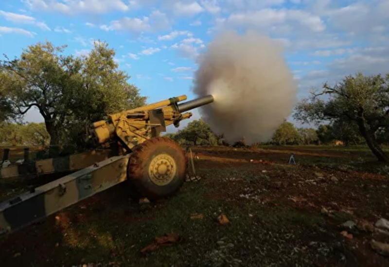 Турция наносит ответные удары по позициям сирийских войск