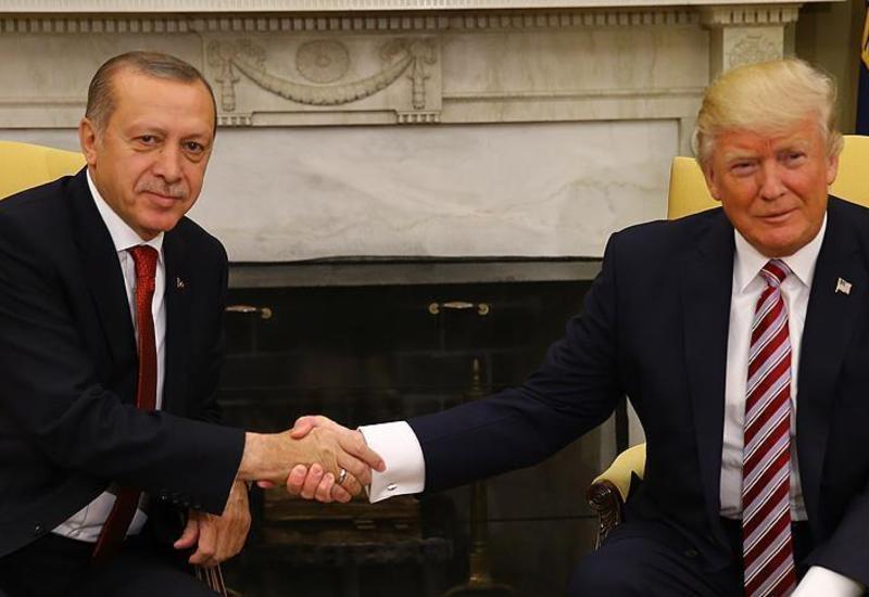 Эрдоган и Трамп провели телефонный разговор