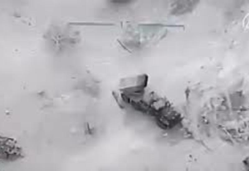 Турция опубликовала кадры ответных ударов по сирийским военным