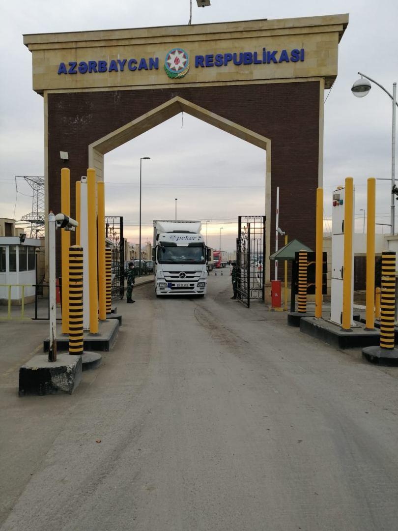 Погранслужба Азербайджана: На пропускных пунктах ограничений нет