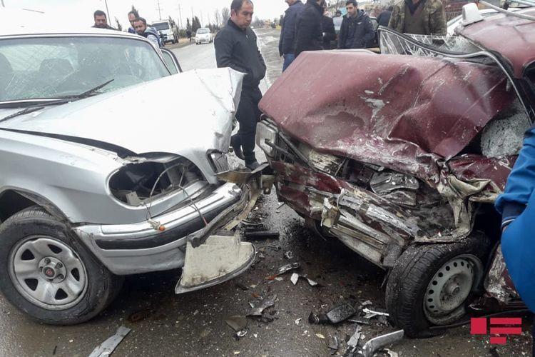 Тяжелое ДТП в Гёйгеле, есть погибший и пострадавшие