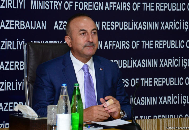 Чавушоглу обсудил с сопредседателями МГ ОБСЕ нагорно-карабахский конфликт