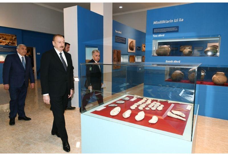 В Товузе сдан в эксплуатацию Историко-краеведческий музей