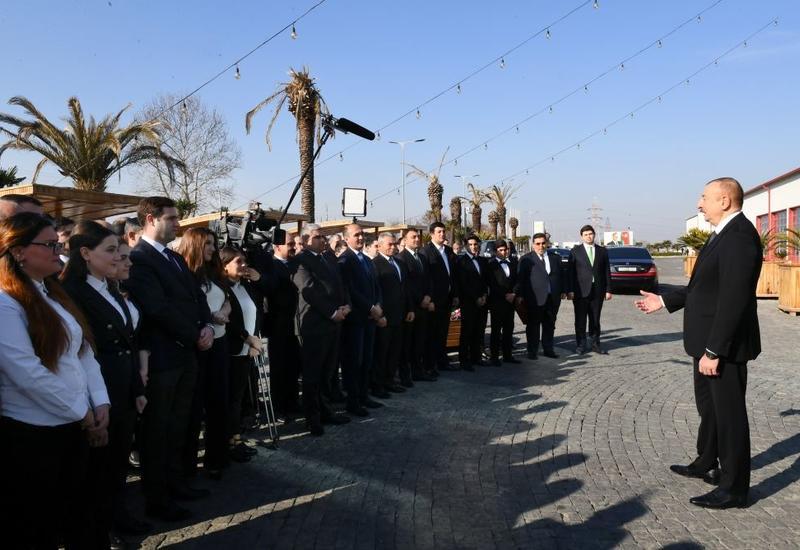 Президент Ильхам Алиев: Азербайджан и дальше будет идти по пути стабильности. А это главное для инвесторов
