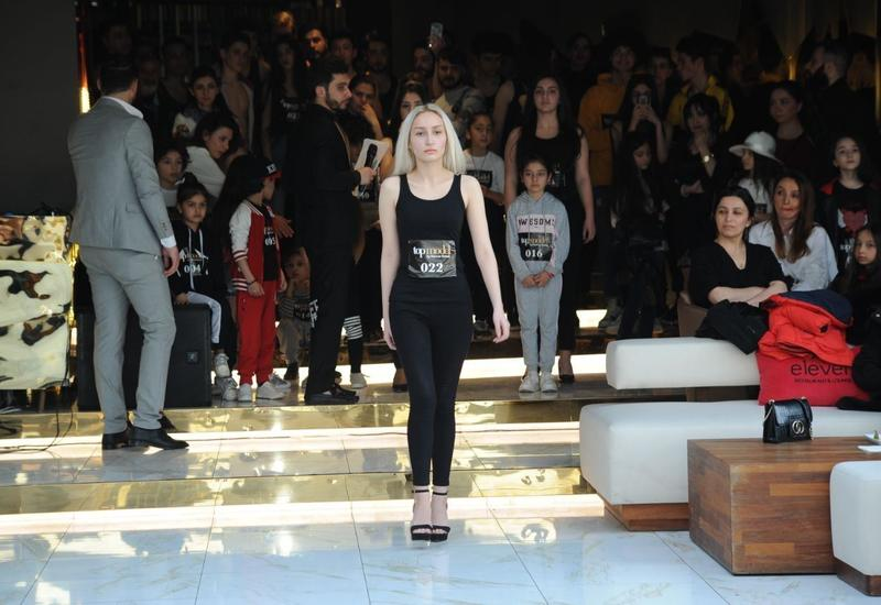 В Баку прошел кастинг конкурса моделей Top Model Azerbaijan 2020