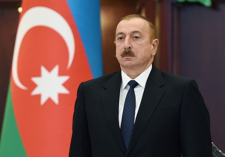 Президент Ильхам Алиев принял участие в первом пленарном заседании Милли Меджлиса Vl созыва