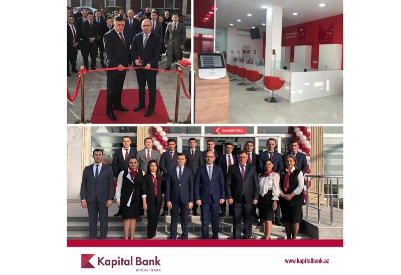 Kapital Bank представил обновленный филиал в Балакене (R)
