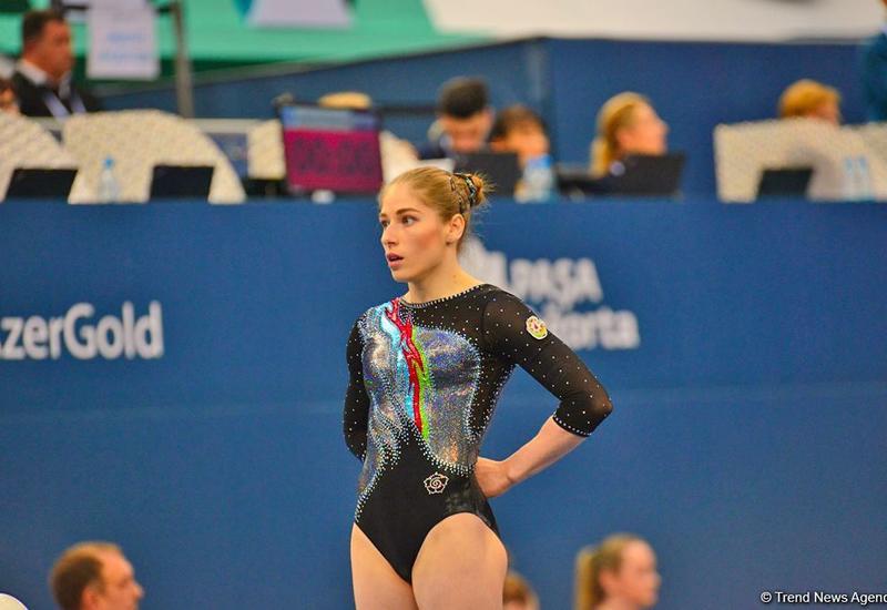 Азербайджанская гимнастка вышла в финал чемпионата Европы в Базеле