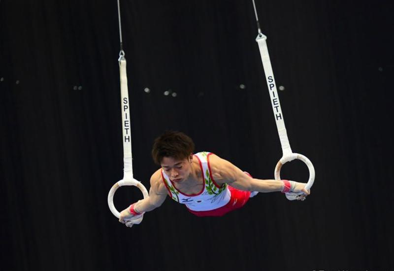 В Баку стартовал первый день соревнований Кубка мира FIG по спортивной гимнастике