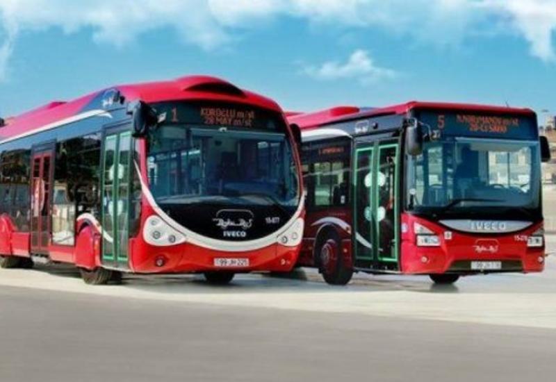 До 25 января в Азербайджане не будет работать общественный транспорт