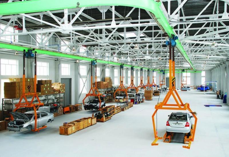В Азербайджане выросло производство промышленной продукции