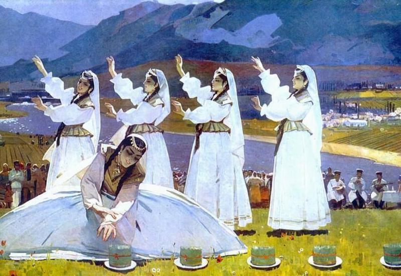 Праздник Новруз в произведениях азербайджанских художников