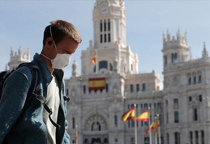 В Испании за сутки подтвердились почти 14 тысяч заражений