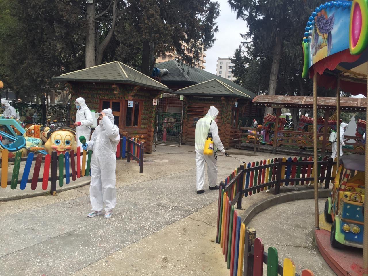 В Баку усилены меры по дезинфекции