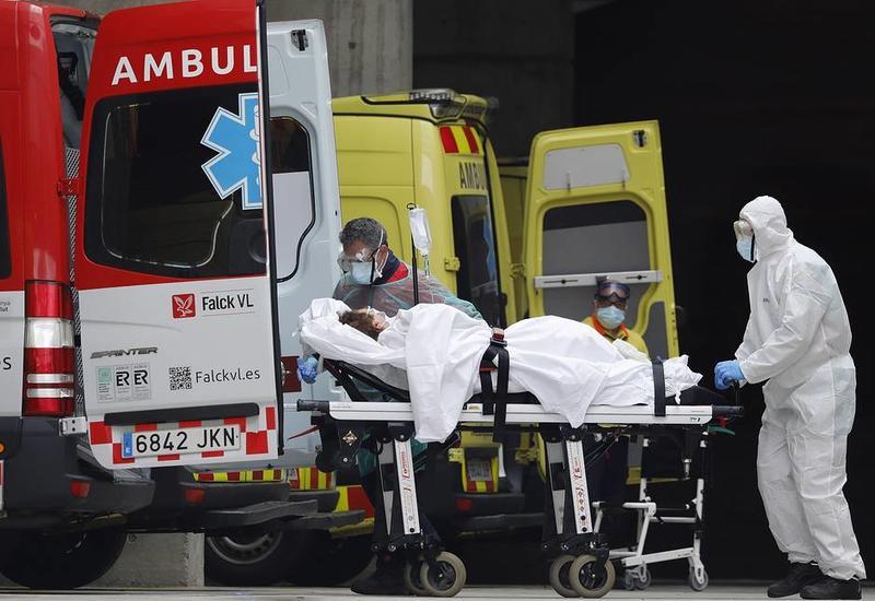 В Испании за сутки свыше 500 человек умерли из-за коронавируса