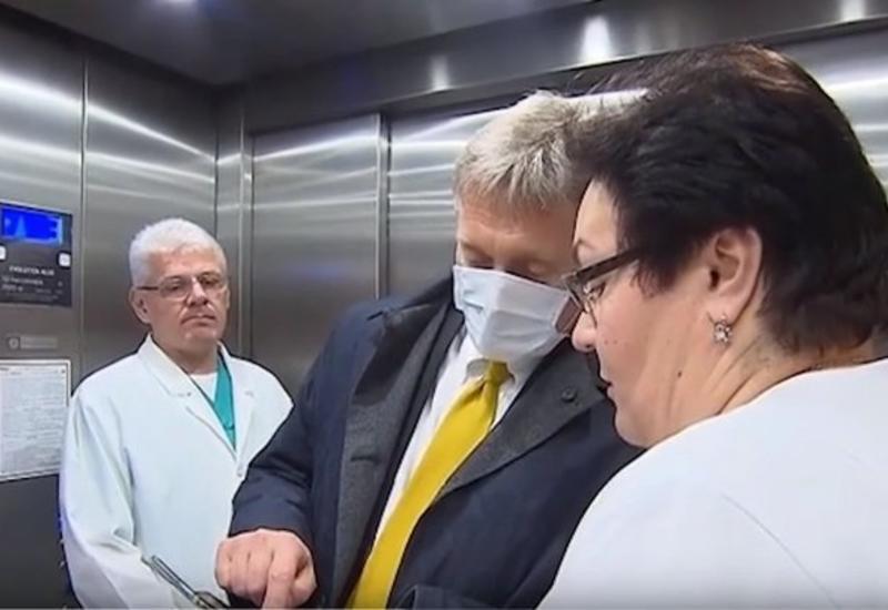 Песков попросил уничтожить свой телефон после поездки в больницу, где лечатся от коронавируса