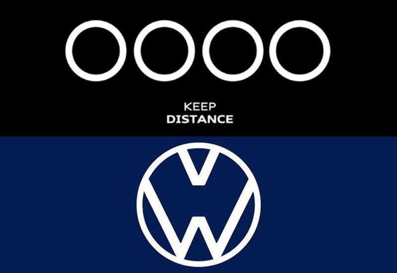 Audi и Volkswagen изменили логотипы из-за коронавируса